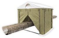 Палатка сварщика Митек 2.0х2.0 (ПВХ+брезент)(производство)