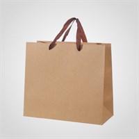 Подарочный Однотонный Пакет 27x30.5x13.5 см. (от 12 шт.)