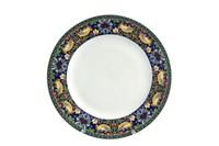 Тарелка десертная 19см  P011-A07023B Strawberry Thief (blue)