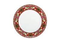 Тарелка десертная 19см  P011-A07023R Strawberry Thief (red)