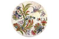 Тарелка обеденная 24см  P016-A06949 Bright Ornamental