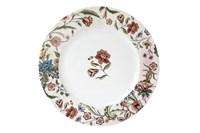 Тарелка обеденная 24см  P016-A06952 Butterfly Flora