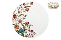Набор тарелок десертных  19см 1/4 п/уп B0924-A06952 Butterfly Flora