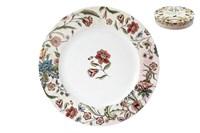 Набор тарелок обеденных 24см 1/4 п/уп B0927-A06952 Butterfly Flora