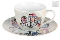 Пара чайная 250мл  B0939-A07011 Owl Hatstand