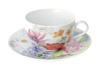 Пара чайная 250мл  CS11-A06934 Луговые цветы