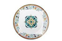Тарелка десертная 20см  YQ1936 Средиземноморский бриз