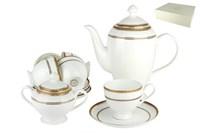 Набор чайный 6/14 1круглая 250мл. п/уп SX-0033 Греческий узор