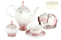 Набор чайный    6/14 250мл п/уп ZS014-3(14PCS) Симфония розовая