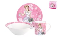 Набор посуды 1/3  Принцессы  TSET3P