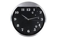 Часы 30см 3081 металлический  корпус