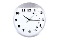 Часы 30см 3081-1 металлический  корпус