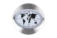 Часы 30см 3108-1 белый  металлический  корпус