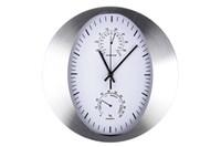 Часы настенные 30.5х30.5х4.5см  KR276 алюминевый  корпус