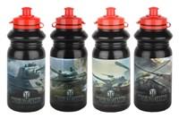 Бутылка для воды 520мл  PLC-4429 world of tanks 4диз микс