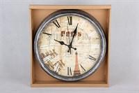 Часы настенные 32см  3098 ф.круг