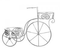 """Кашпо с 2-мя подставками """"Велосипед"""" 25х62х46"""