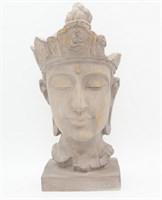 Статуэтка Голова Будды 15,5х11х37,5