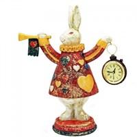 Статуэтка кролика с часами 19х19х25,5