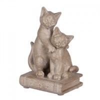 Статуэтка кошки на книге 9х6,5х13