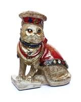 Статуэтка кошки с колодой карт 13х9х16,5