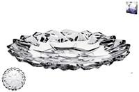 Блюдо сервировочное 18см DSP2015-7 гранение лед