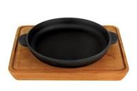 Сковорода чугунная 180х25мм с подставкой Н1825-Д Хорека