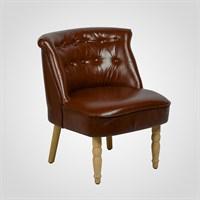 Кресло Интерьерное Коричневое (Эко Кожа)
