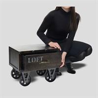 Тумбочка Loft Style Exclusive на Колесах