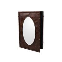 Шкаф-зеркало Металлический лофт