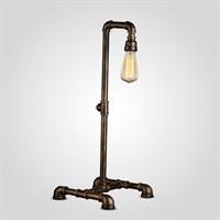 Настольная Лампа Высокая на Одну Лампу в стиле Лофт (Металл)