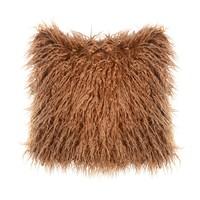 Подушка Лама (коричневая)