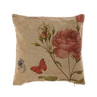 Декоративная подушка с Розой