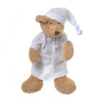 Медвежонок коричневый девочка  в ночной сорочке 27  см