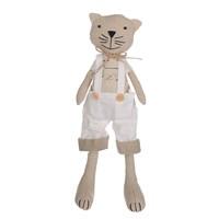 Котик в Белом Комбинезоне 30 см.