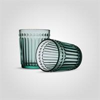 Стакан Стеклянный для Воды Бирюзовый Малый (от 6 штук)