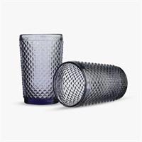 Стакан для Воды Нежный Фиолетовый Ромбик 300 ml (от 6 штук)