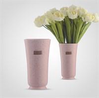 Ваза Керамическая Матовая Розовая M