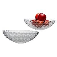Тарелка для фруктов Стеклянное кружево