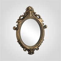 """Зеркало Золотистое """"Palais Royale"""" (Полиуретан)"""