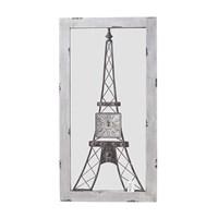 Зеркало-часы Эйфелева башня