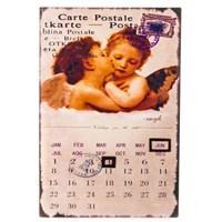 Календарь металлический Поцелуй ангела