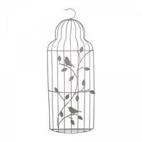Металлическая декоративная клетка Ажурная птичка
