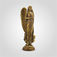 Ангел Золотистый 40 см. (Полистоун)