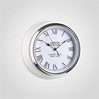 "Часы Настенные Белые ""London Station"" (Полимер)"