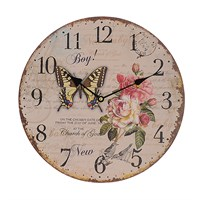 Часы настенные круглые(34см)