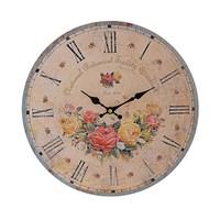 Часы настенные Букет из роз (34см)