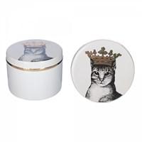 Шкатулка Кошка в короне