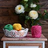 Шкатулка Плетеная Кружевной Цветок