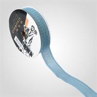 Лента Текстильная Сетчатая Синяя для Упаковки Цветов и Подарков